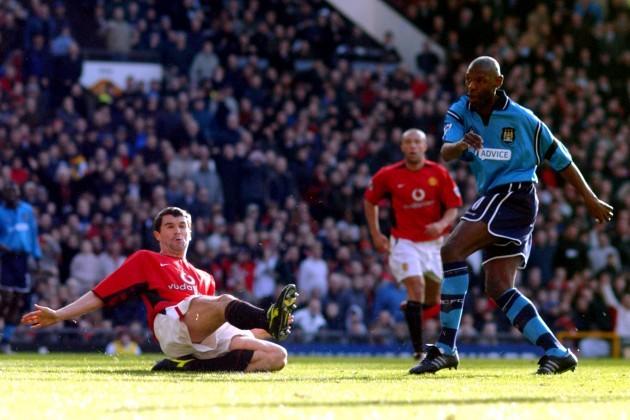 Soccer - FA Barclaycard Premiership - Manchester United v Manchester City