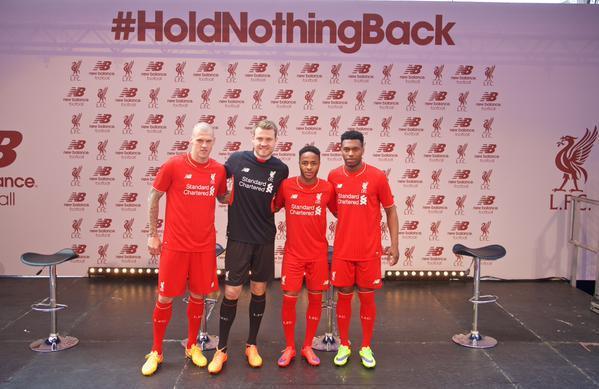 LFC new kit group