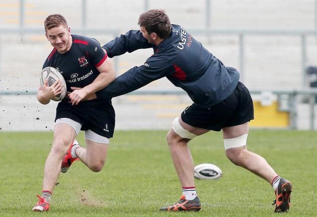 Paddy Jackson and Ian Henderson