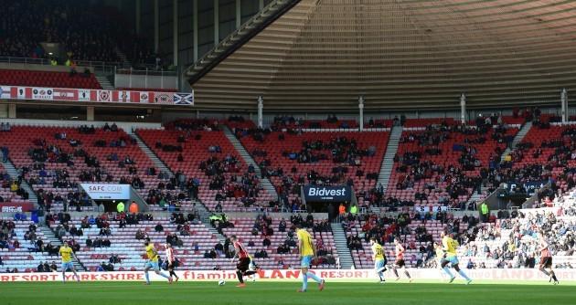 Soccer - Barclays Premier League - Sunderland v Crystal Palace - Stadium of Light