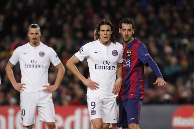 Soccer - UEFA Champions League - Group F - Barcelona v Paris Saint-Germain - Camp Nou