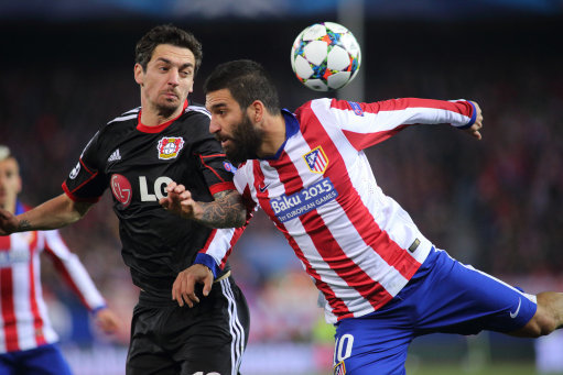 Soccer - UEFA Champions League - Round of 16 - Second Leg - Atletico de Madrid v Bayer 04 Leverkusen - Vicente Calderon Stadium