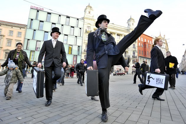 International Silly Walk Day - Czech Republic