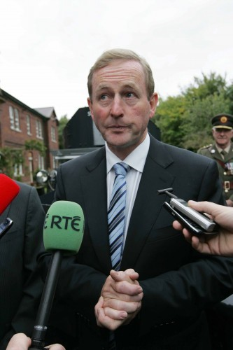 Taoiseach Responds To Media Question Reg