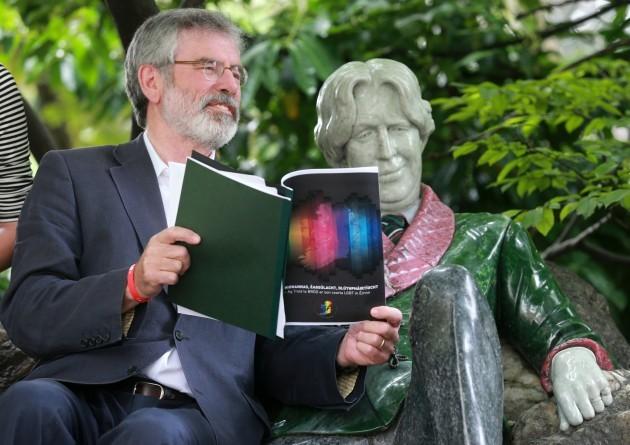 Sinn Fein Gay Lesbian Referendums