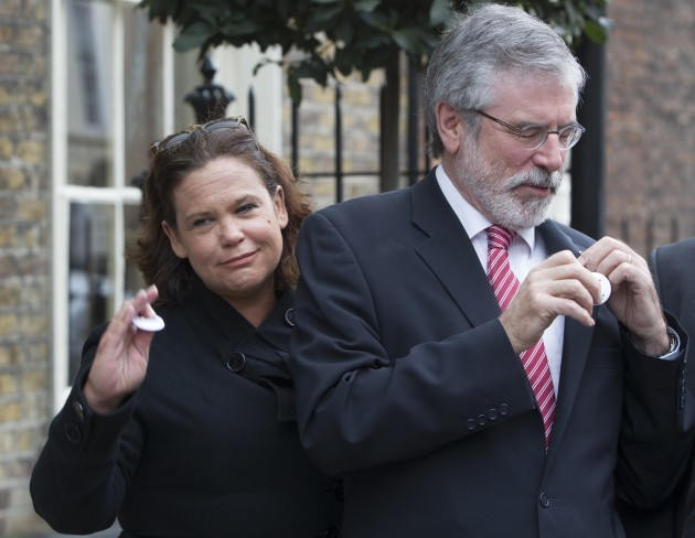 Sinn Fein - Yes Vote. Pictured (LtoR)