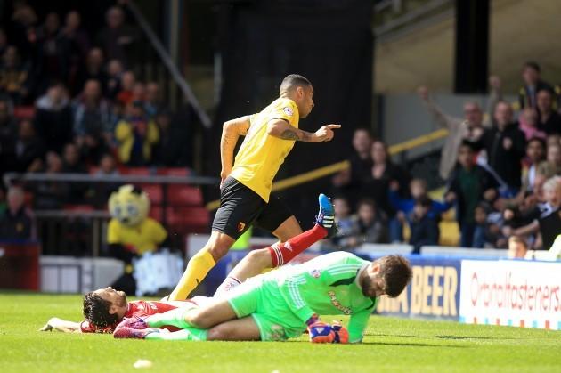 Soccer - Sky Bet Championship - Watford v Middlesbrough - Vicarage Road