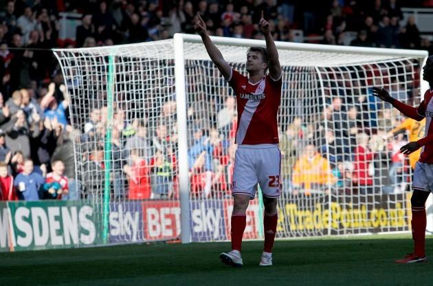 Soccer - Sky Bet Championship - Middlesbrough v Rotherham United - Riverside Stadium