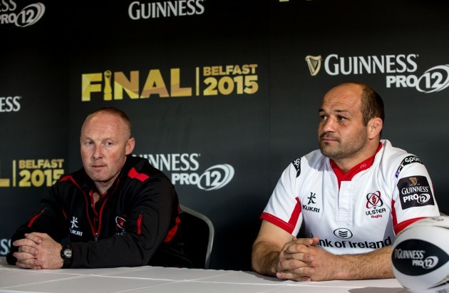 Neil Doak and Rory Best