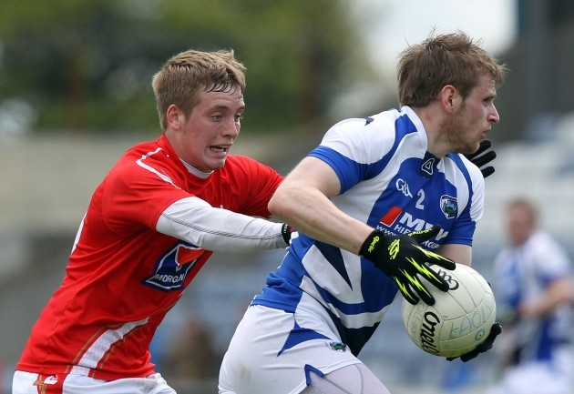 Ciaran Byrne chases Mark Timmons