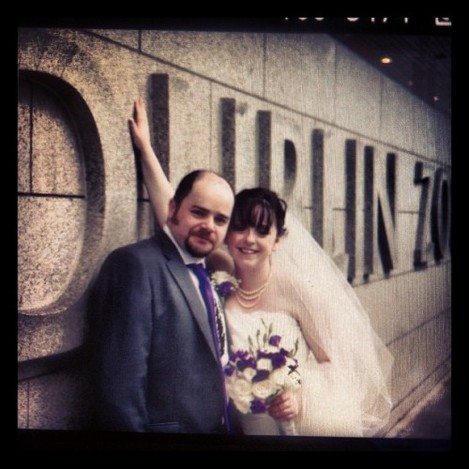 A little look at today wedding from Dublin Zoo