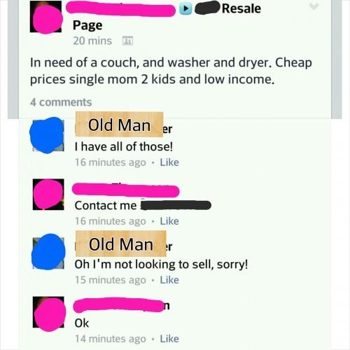 Grandpa has it all!
