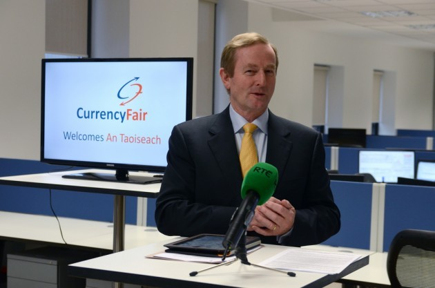 Taoiseach Visit to CurrencyFair's Ranelagh Office Inauguration