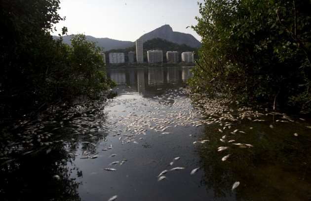 Brazil Rio 2016 Dirty Water