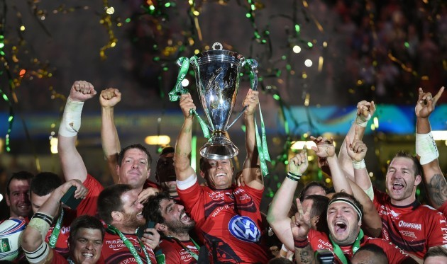 Rugby Union - Heineken Cup - Final - RC Toulon v Saracens - Millennium Stadium