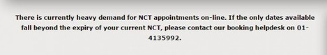 ncts delays