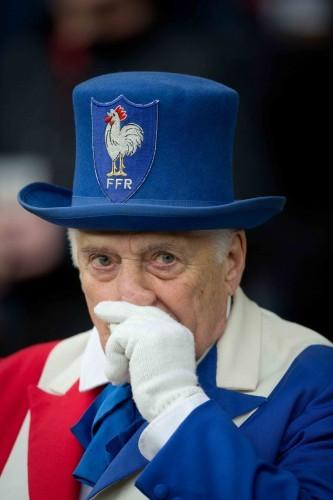 A French fan