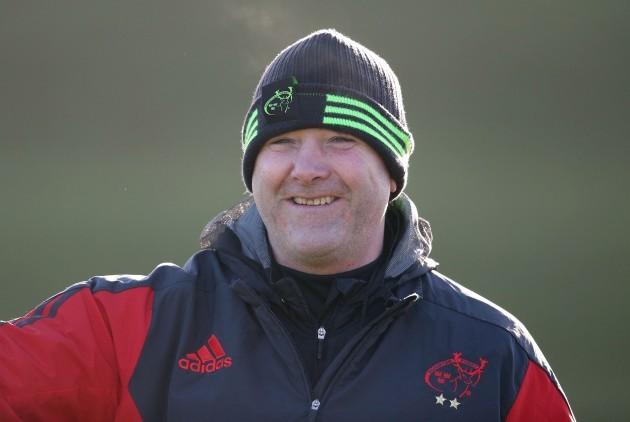 Head coach Anthony Foley