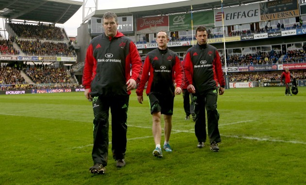 Anthony Foley, Ian Costello and Brian Walsh