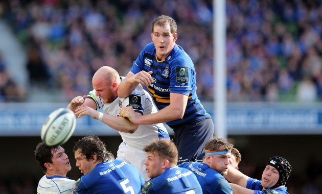 Devin Toner steals a line-out