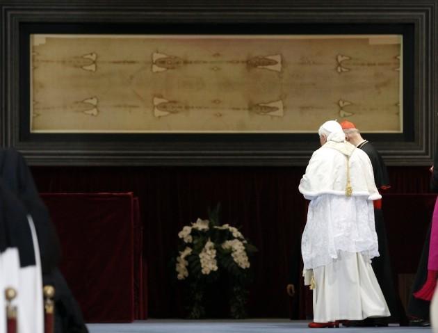 Italy Pope Shroud of Turin