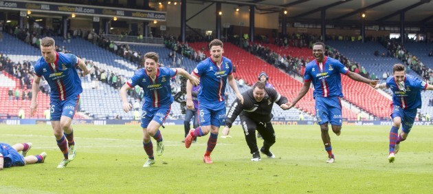 Soccer - The William Hill Scottish Cup - Semi Final - Inverness Caledonian Thistle v Celtic - Hampden Park
