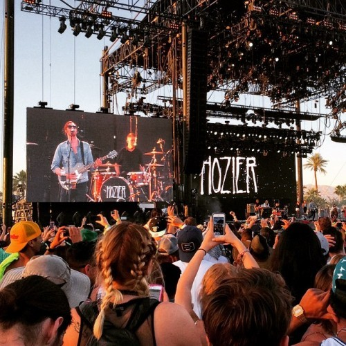 #hozier at #coachella