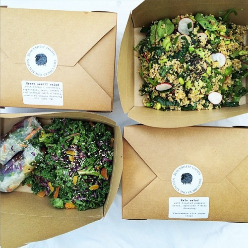 Office lunch box deliveries on the way out!