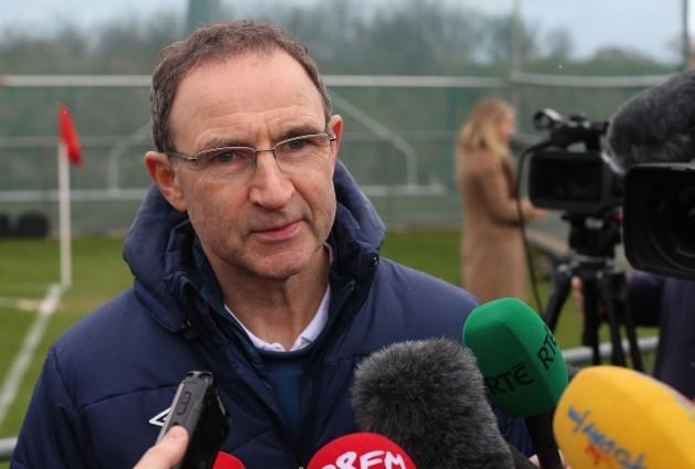 Soccer - UEFA European Championship Qualifying - Group D - Republic of Ireland v Poland - Republic of Ireland Training Session - Gannon Park