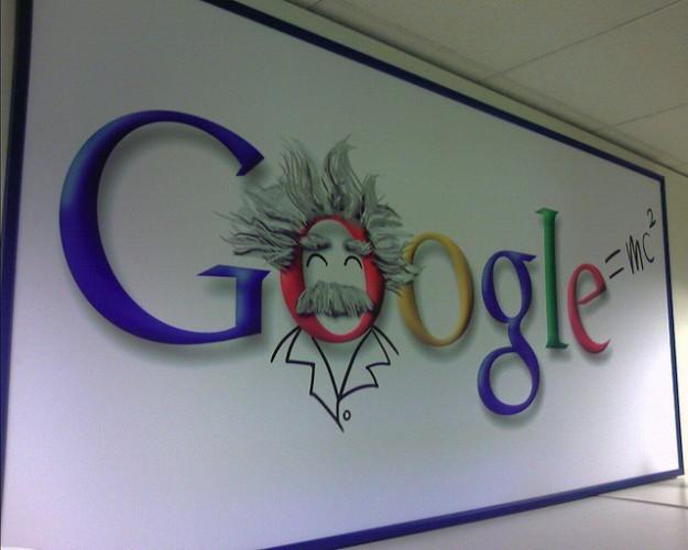 Einstein Google Logo At Google Kirkland