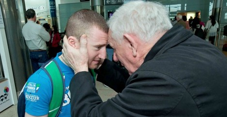 Paddy Barnes is welcomed back by Tommy Murphy