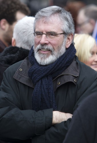 Sinn Fein - Gerry Adams TD. Pictured S