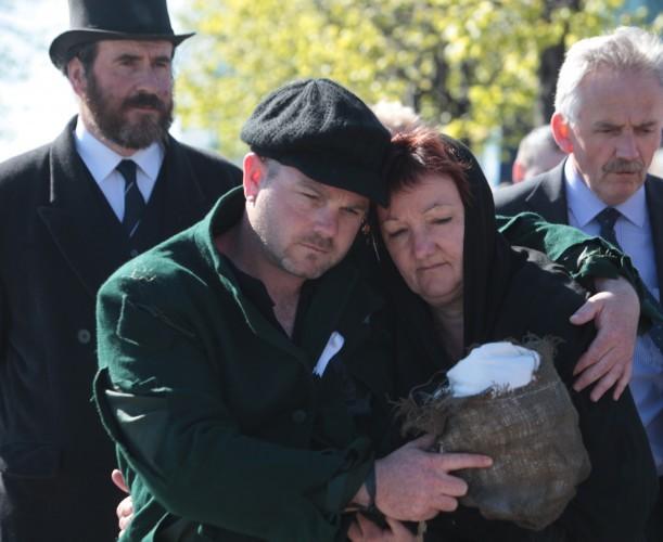 Strokestown/Dublin Famine Walk. L to R.