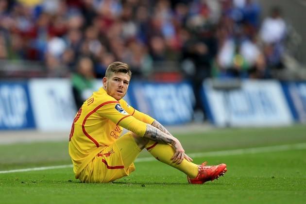Soccer - FA Cup - Semi Final - Aston Villa v Liverpool - Villa Park