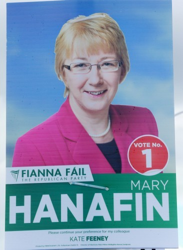 Hanafin Elections Campaigns Posters