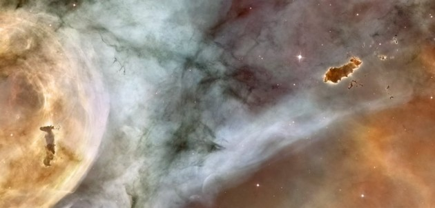 unlike-in-the-previous-hubble-image-the-evaporating-gaseous-globule-on-the-right-of-this-one-has-completely-detached-from-its-host-gas-cloud-this-is-a-close-up-image-of-the-carina-nebula-and-that-