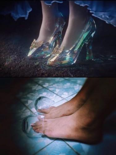 รองเท้าแก้วคู่นี้ ท่านได้แต่ใดมา?