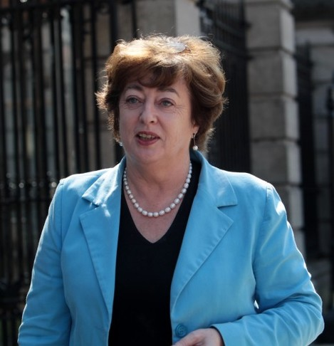 Independent TD Catherine Murphy outside