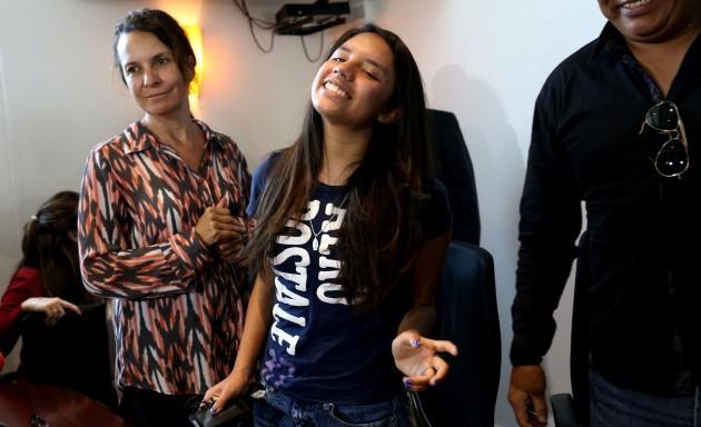 Mexico US Girl Seized