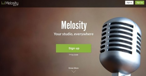 New Melosity Homepage Pic