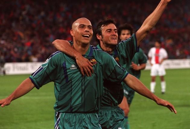 European Soccer - European Cup Winners Cup (ECWC) final - Barcelona v PSG Paris St Germain