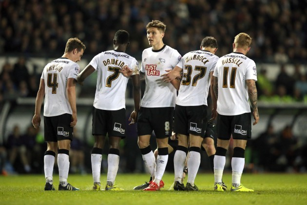 Soccer - Sky Bet Championship - Derby County v Blackpool - iPro Stadium