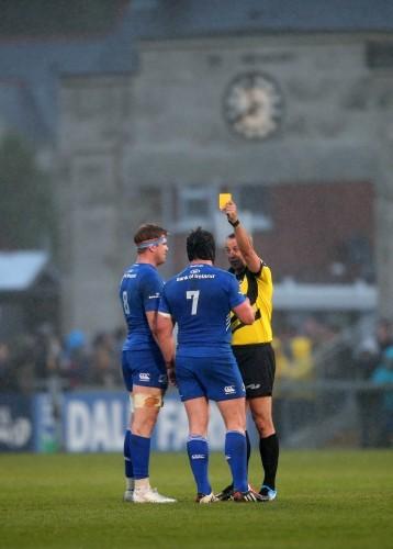 John Lacey sends Sean O'Brien to the sinbin