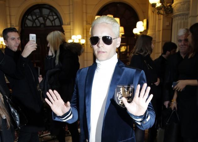 Paris Fashion Balmain Arrivals