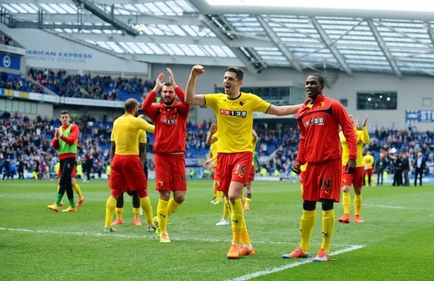 Soccer - Sky Bet Championship - Brighton and Hove Albion v Watford - AMEX Stadium