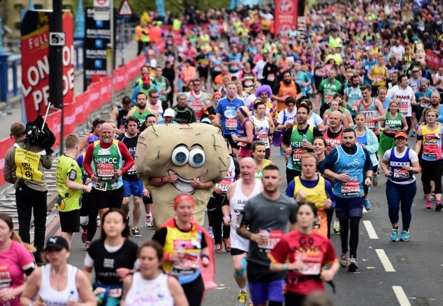 Athletics - Virgin Money London Marathon 2015