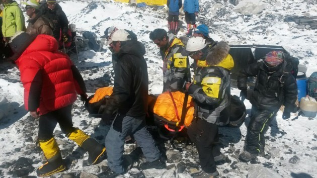 Nepal Everest Avalanche