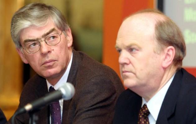 File Photo Michael Noonan says Alan Dukes reassured him on Siteserv sale.