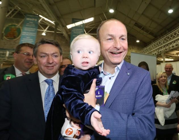 Fianna Fail . Pictured (LTOR) Fianna F
