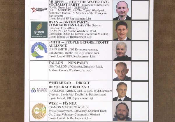 ballot paper - 2